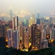 Royalty-Free Stock Photo: Hong Kong from Victoria Peak