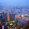 Kowloon, Hong Kong Cityscape - Stock Photo