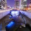 Постер, плакат: Cheonggyecheon Stream in Downtown Seoul