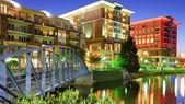 Downtown Greensville, South Carolina — Stock Photo