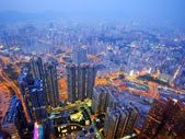 Kowloon, Hong Kong Cityscape — Stock Photo