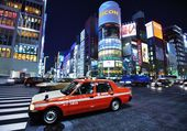 The Ginza District — Foto Stock