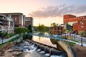 Greenville, carolina do sul — Foto Stock