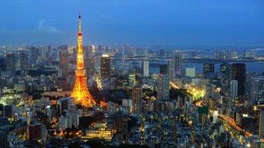 Tokyo Time Lapse — Stock Video