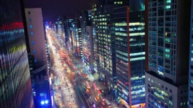 Cityscape of Seoul, South Korea — Stock Video