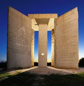 Georgia Guidestones — Foto Stock