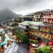 Jiufen Hillside Teahouses — Stock Photo