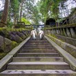 Stock Photo: Shinto Priests at Toshogu shrine