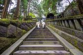 Sacerdotes xintoístas em santuário de toshogu — Foto Stock
