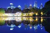 Atlanta Park View — Stock Photo