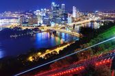 Pittsburgh Cityscape — Stock Photo