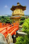 Golden Pavilion in Hong Kong — Stock Photo