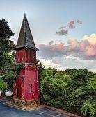 Viejo campanario de la iglesia — Foto de Stock