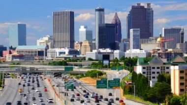 Downtown Atlanta, Georgia — Wideo stockowe