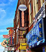 Broadway Nashville — Stock Photo