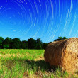 Farmland and Stars — Stock Photo