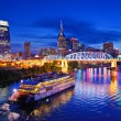 Nashville at Cumberland River — Stock Photo #27422357