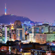 Stock Photo: Seoul, South KoreSkyline