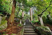 Mountain Temple Trail — Stock Photo