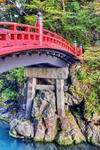 Posvátný most nikko, japonsko — Stock fotografie