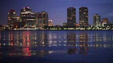 West Palm Beach Florida — Stock Video