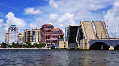 West Palm Beach Florida — Стоковое видео