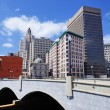 Providence, Rhode Island Skyline — Stock Photo