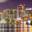 Stock Photo: West Palm Beach Skyline