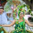 Performers on Lantau Island — Stock Photo