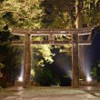 Stock Photo: Stone Tori Gate in Nikko, Japan.