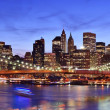 Lower Manhattan Skyline — Stock Photo