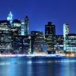 Stock Photo: Lower Manhattan Skyline