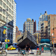 Stock Photo: Astor Place Manhattan