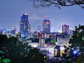 Centro de la ciudad sendai, japón — Foto de Stock