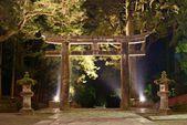 日光のトーラス ゲートの石, 日本. — ストック写真