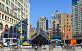 Astor Place Manhattan — Stock Photo