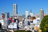 Yokohama, Japan cityscape — Stock Photo