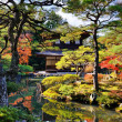 Ginkaku-ji Temple in Kyoto — Stock Photo #28880703