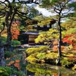 Ginkaku-ji Temple in Kyoto — Stock Photo #28880703