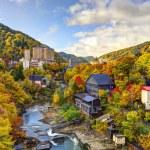 Jozankei, Japan in the Fall — Stock Photo