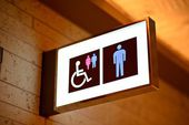 トイレのサイン — ストック写真