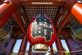 Senso-ji Temple Lantern — Stock Photo