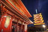 Senso-ji Gate in Tokyo — Stock Photo