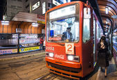 Hakodate Tram — Stock Photo