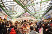Gwangjang Market in Seoul — Stock Photo