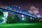 Coolidge Park in Chattanooga — Stock Photo
