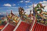 在台北的碧山寺 — 图库照片