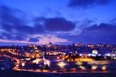 Jerusalem Old City Skyline — Foto de Stock