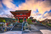 Kiyomizu-dera Temple Gate — Stock Photo