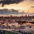 Jerusalem Old City Skyline — Stock Photo